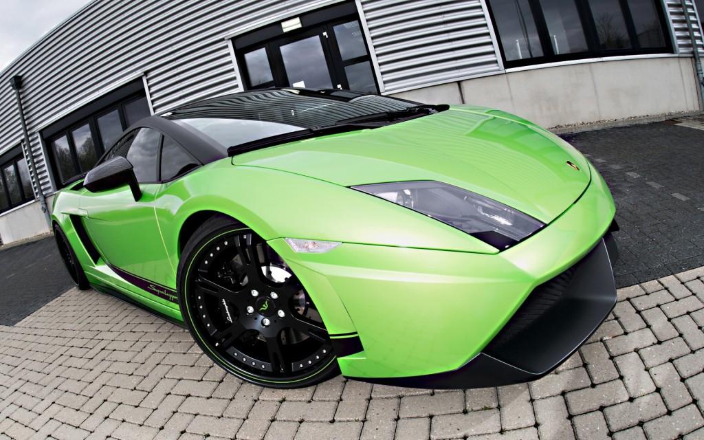 2012-Wheelsandmore-Lamborghini-Gallardo-Superleggera-Green-Beret-Front-Angle-2